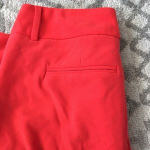 Red dress pants New York and company